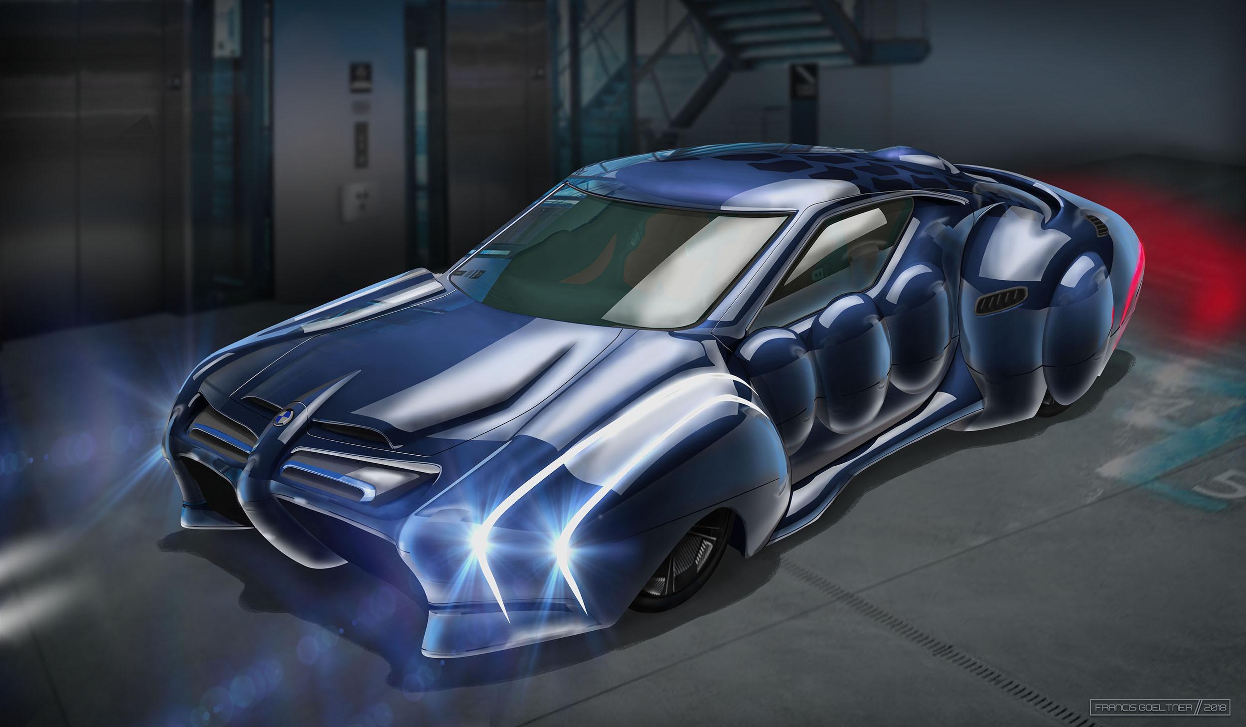 Market Forces - BMW Omega Series - Front - Dark Blue