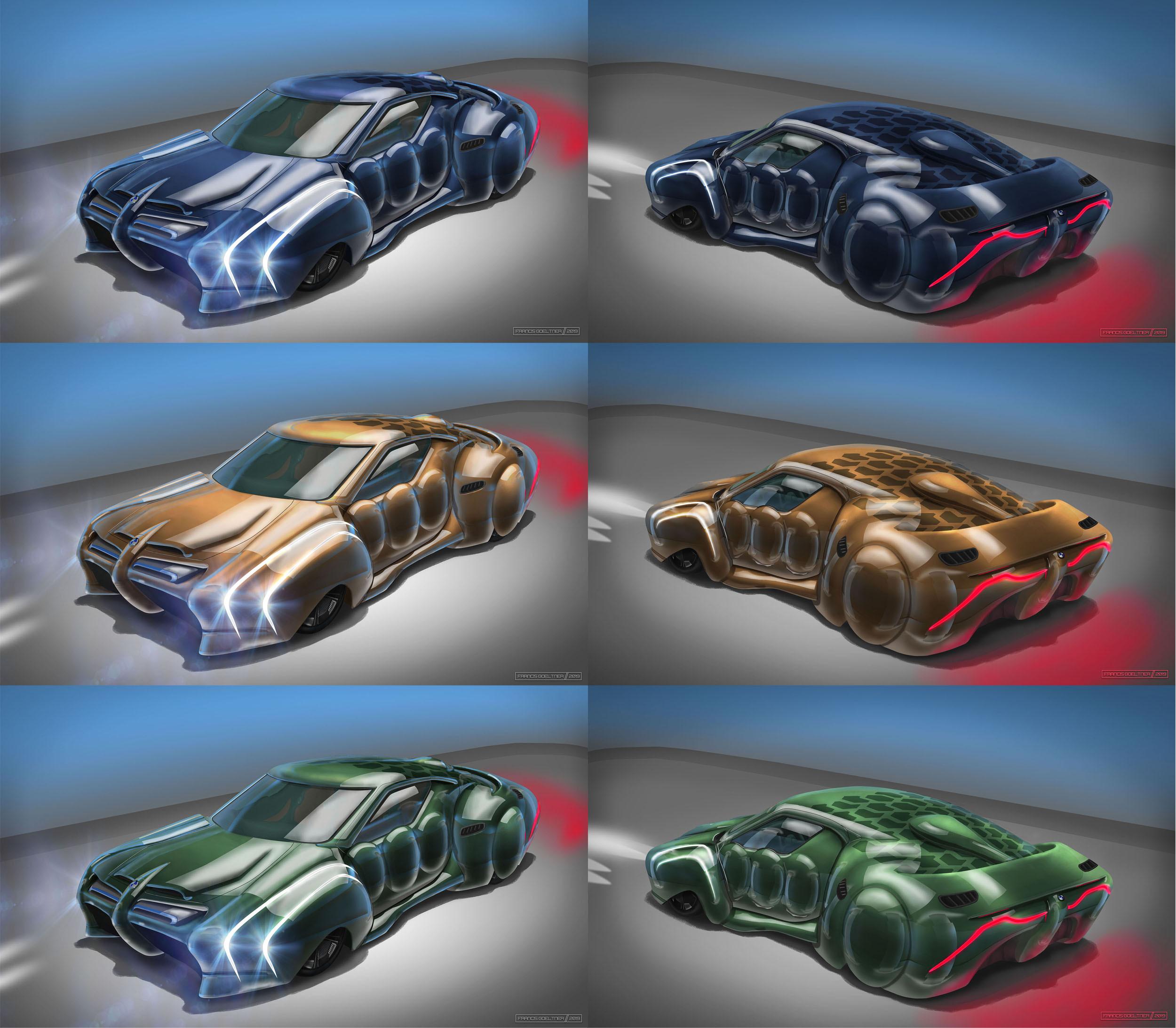 Market Forces - BMW Omega Series - Front - Color Variations