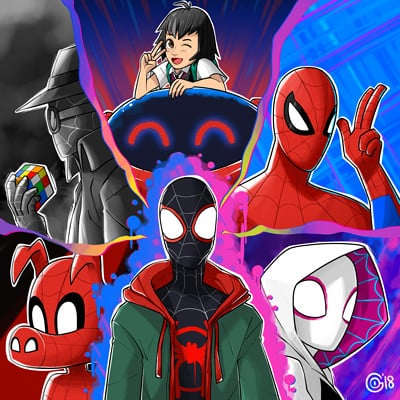 Go martinez spiderman spiderverse