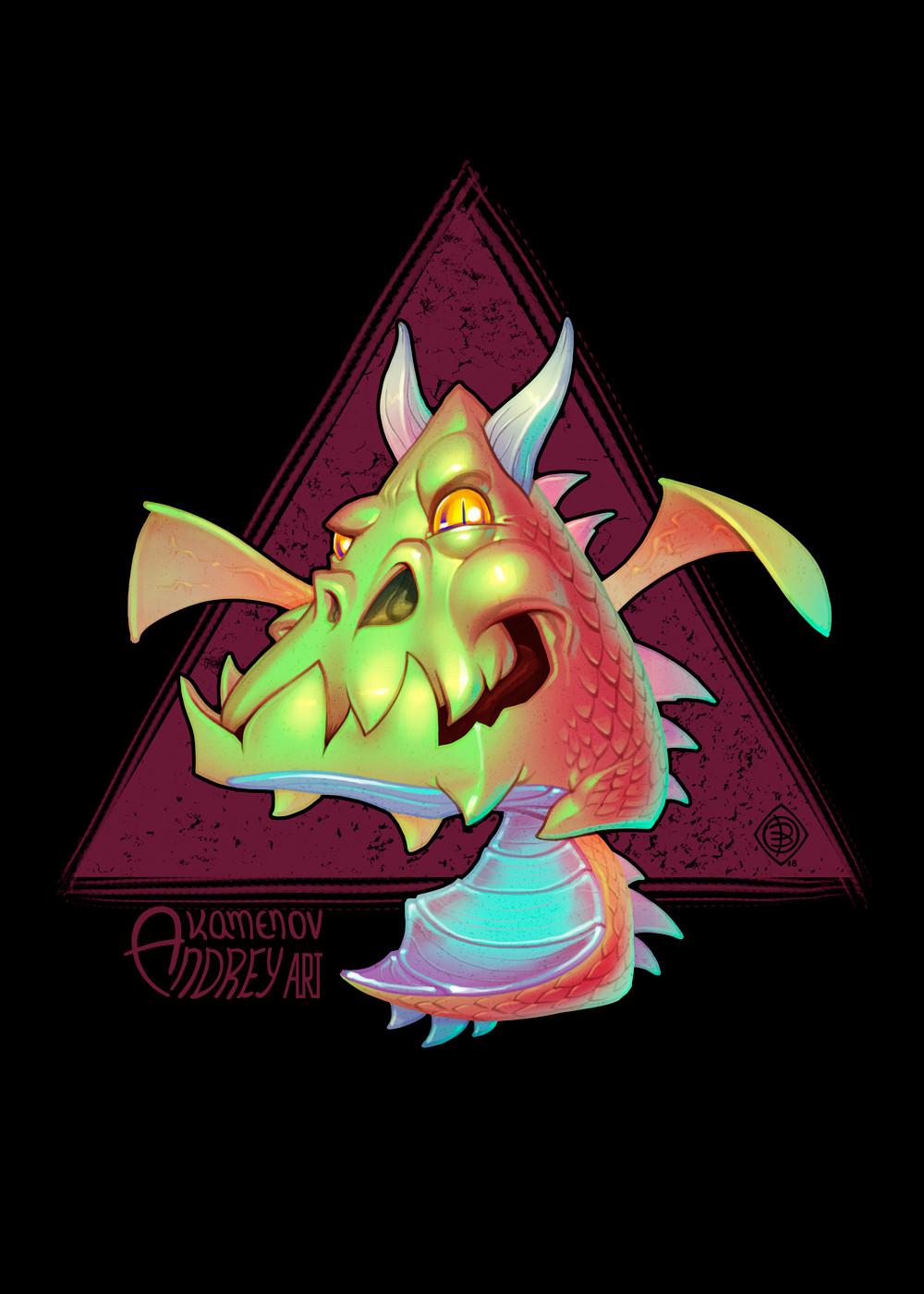 Andrey kamenov dragon triangle 06