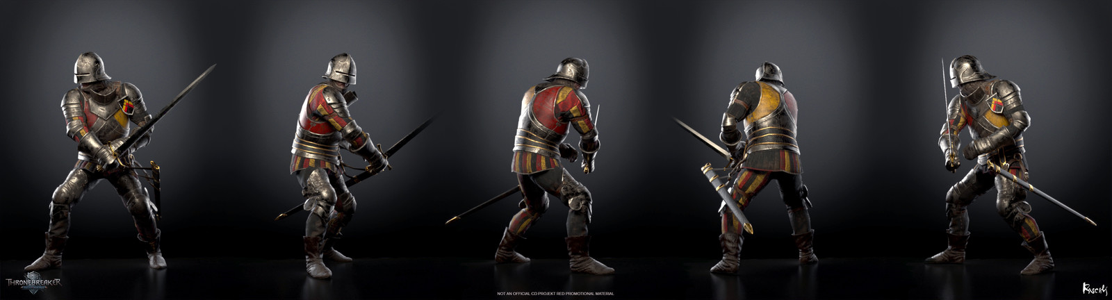 Artist: David Aucourt, Art Director: Roman Mindek, Producer: Tom Roller.  Poses created from rigs and animation by CD PROJEKT RED. Check out more from Rascals at www.rascals.studio
