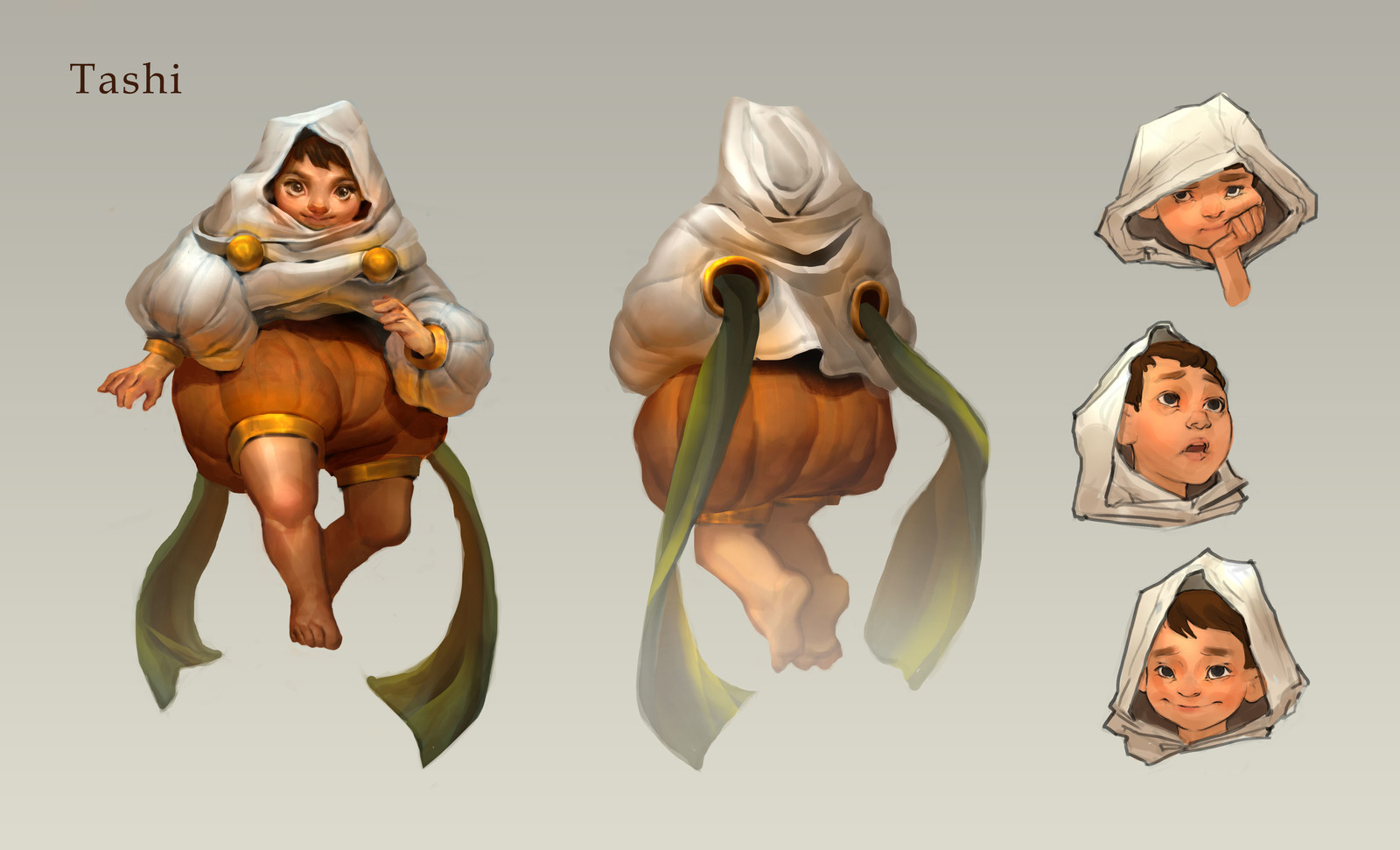 Tashi Character Concept