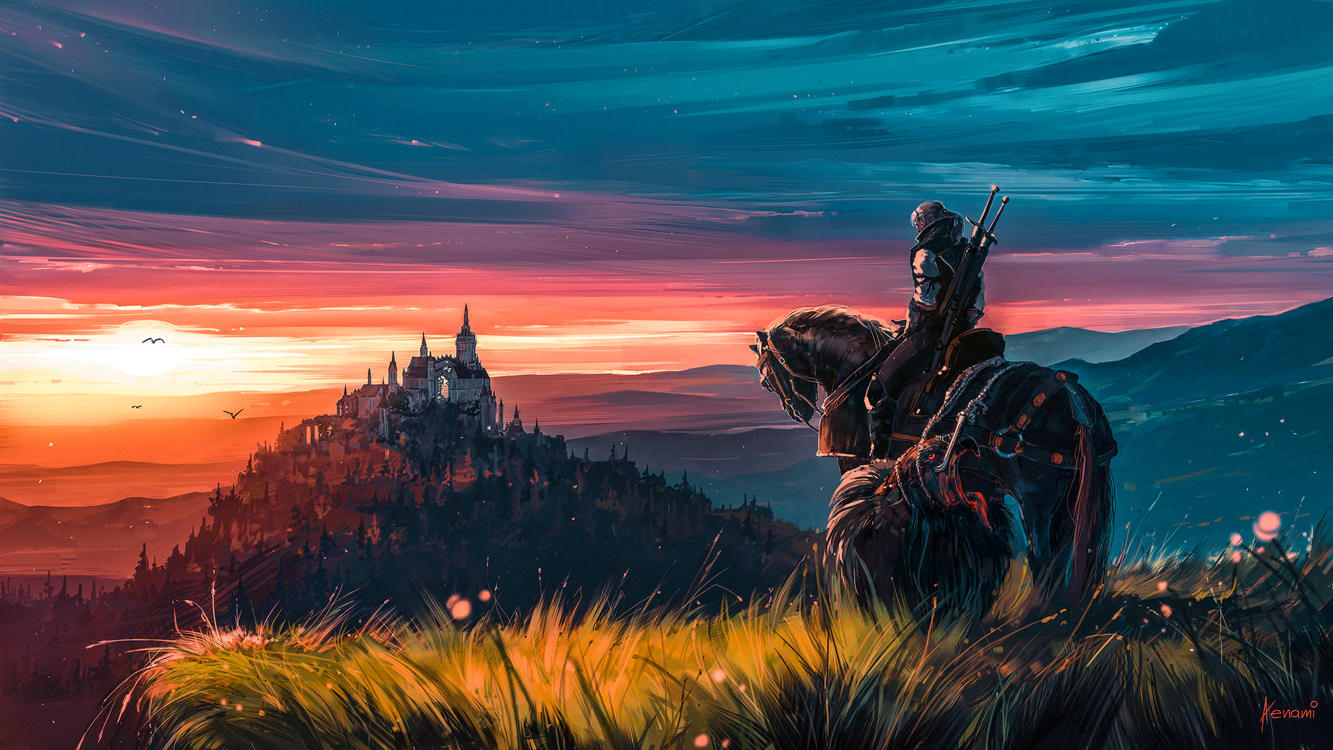 Alena aenami witcher 1k