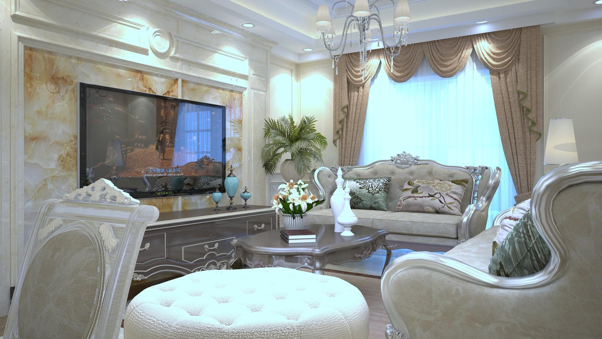 Mohamed Fouad - living room semi classic