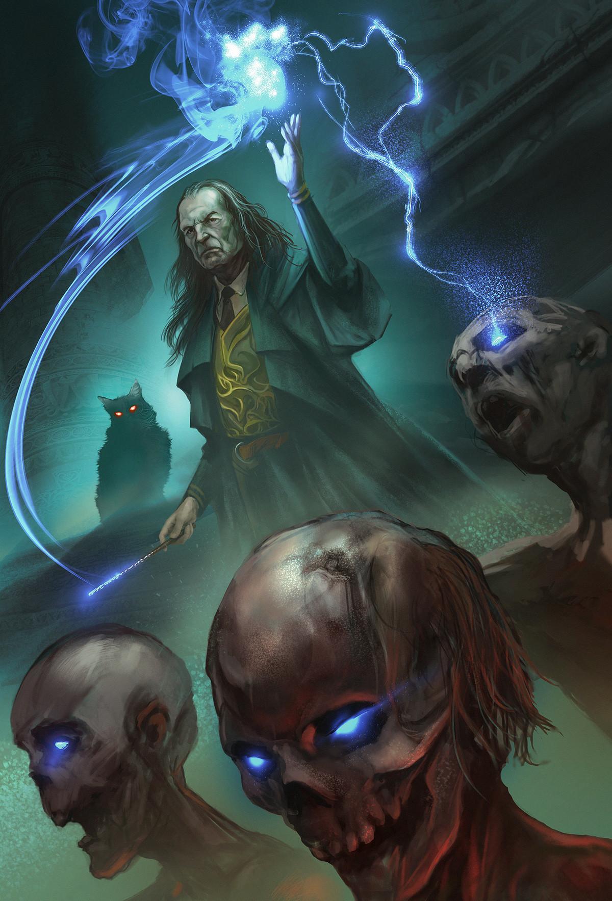 """""""Argus Filch, the shadow Necromancer"""""""