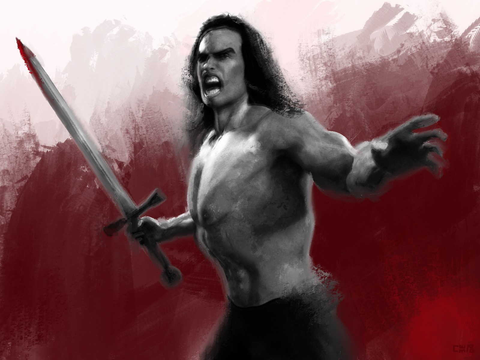 Conan The Barbarian - Tribute