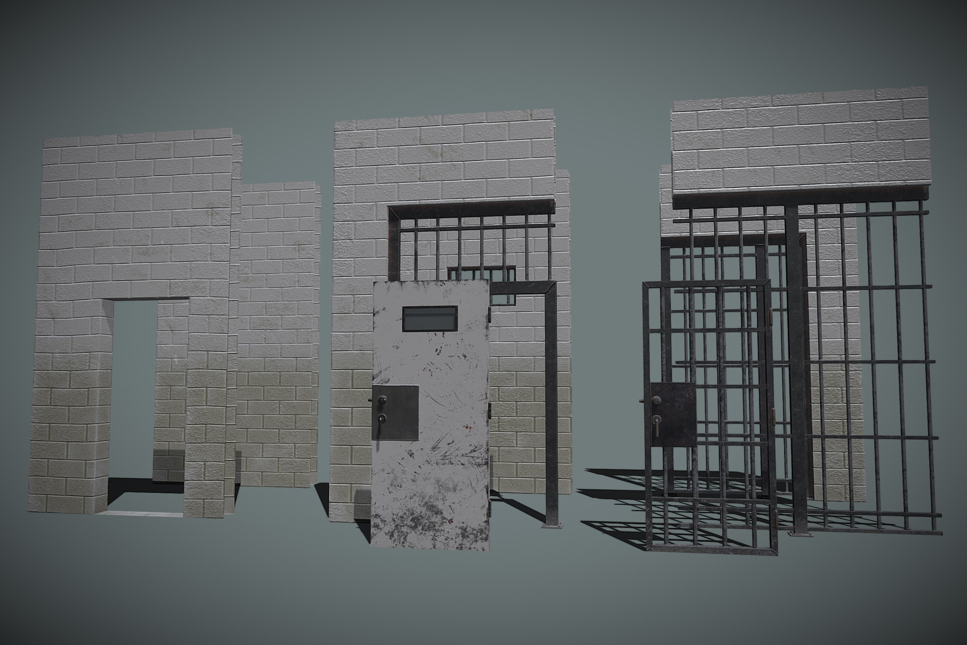 Jail Cell Asset Pack