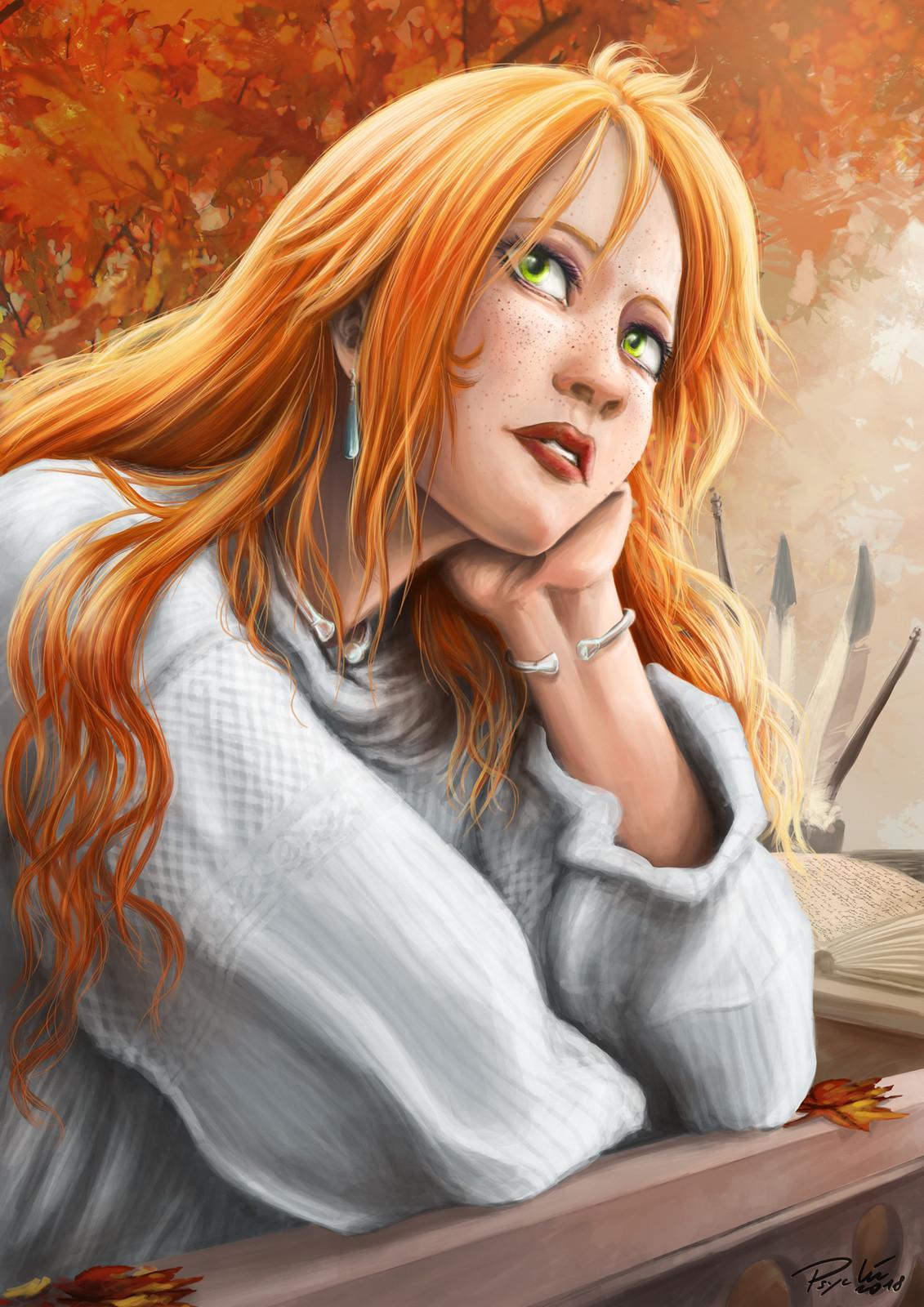 Lisa rêveuse