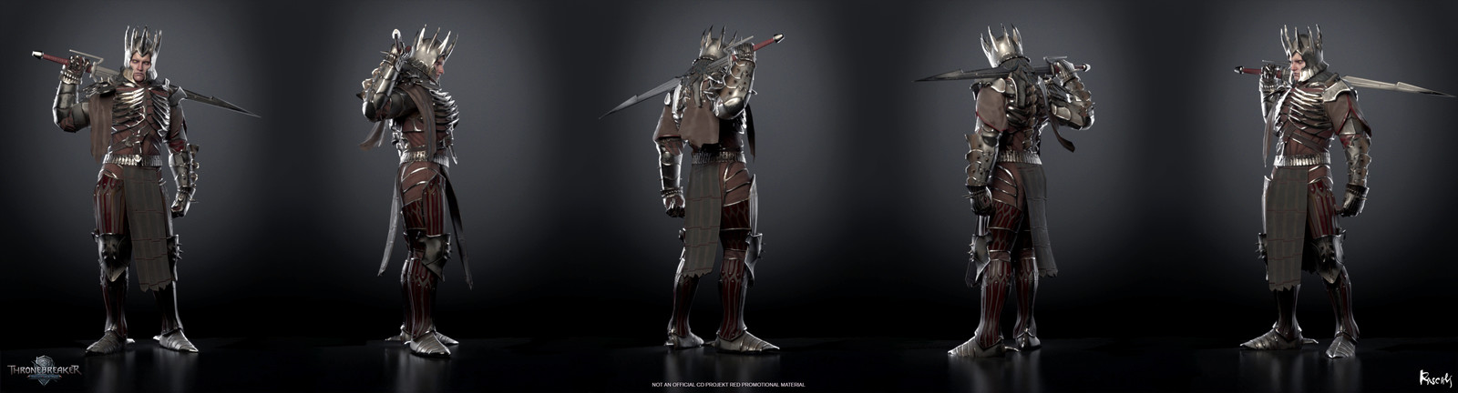 Artist: Stas Ostrikov Art Director: Roman Mindek, Producer: Tom Roller.  Poses created from rigs and animation by CD PROJEKT RED. Check out more from Rascals at www.rascals.studio