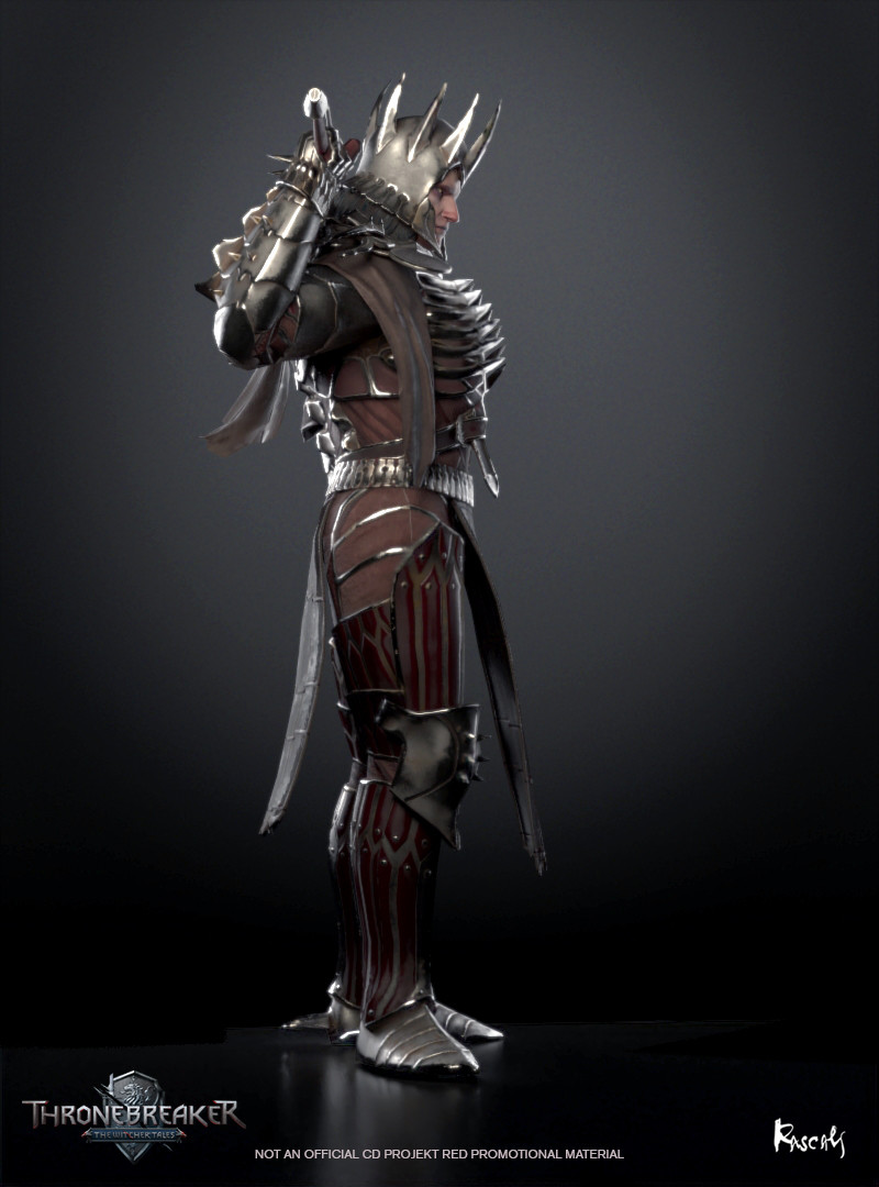King Auberon Muircetach of the Aen Elle elves appointed Eredin as the leader and general of the Red Riders. Eredin could access the Gate of the Worlds to raid many different universes at will.
