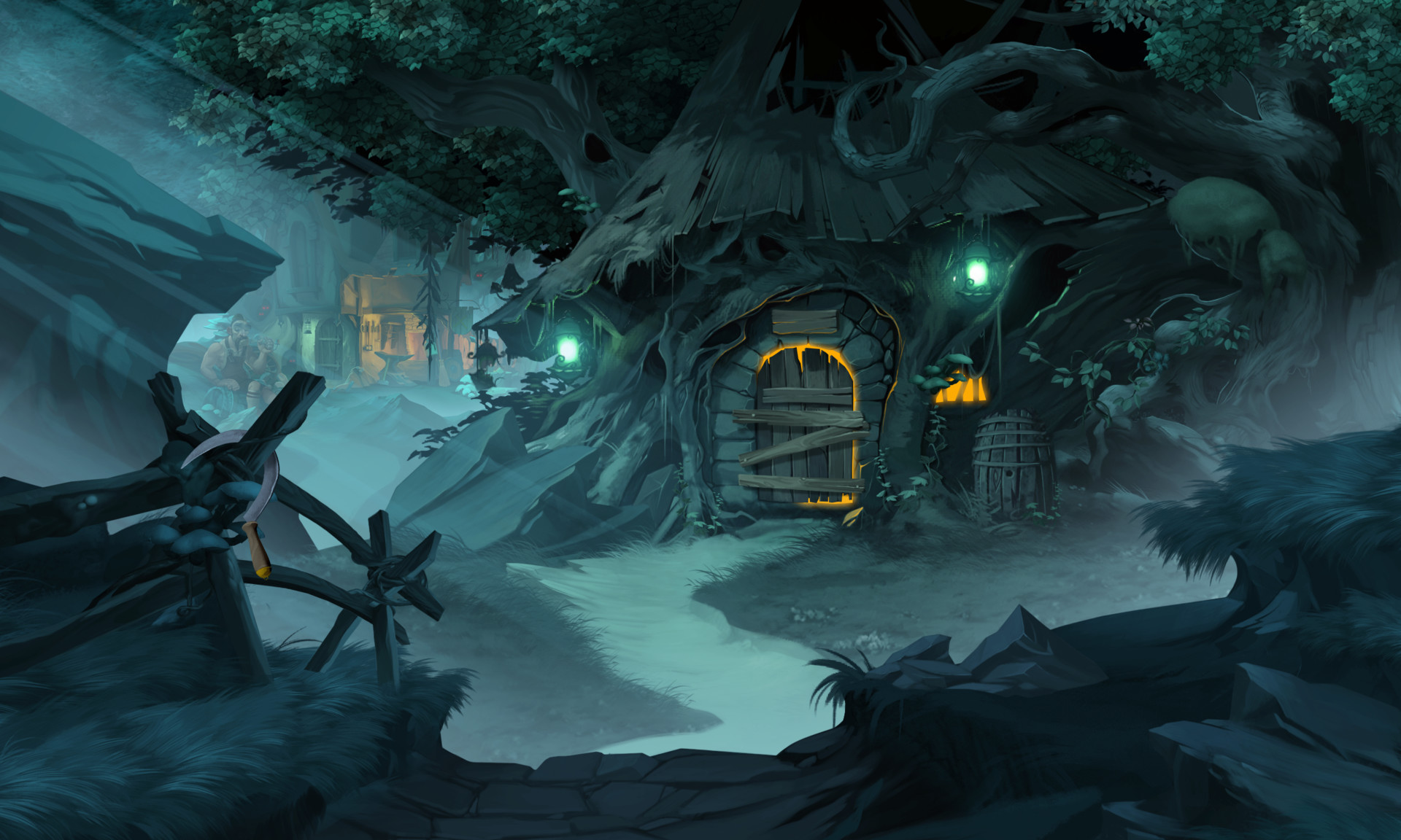 ArtStation - Fearful Tales - Hansel and Gretel, CHAPTER 2