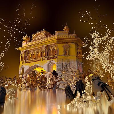 Te hu golden temple c