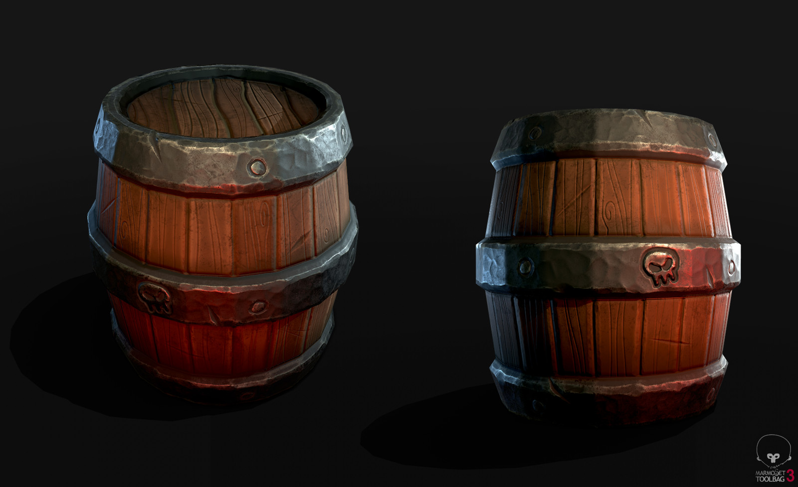 Stylized Barrel