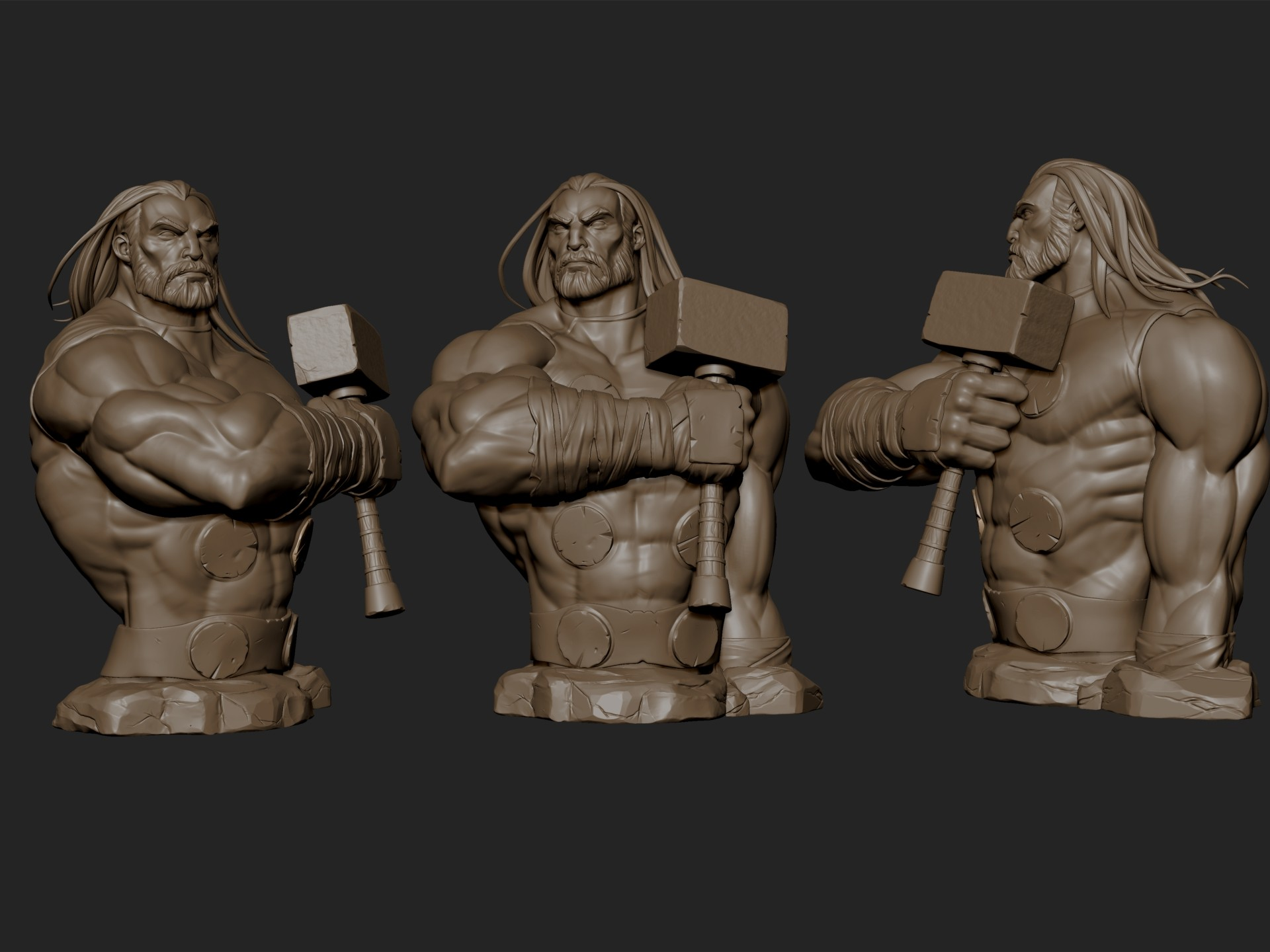 Billy lord sculpts render