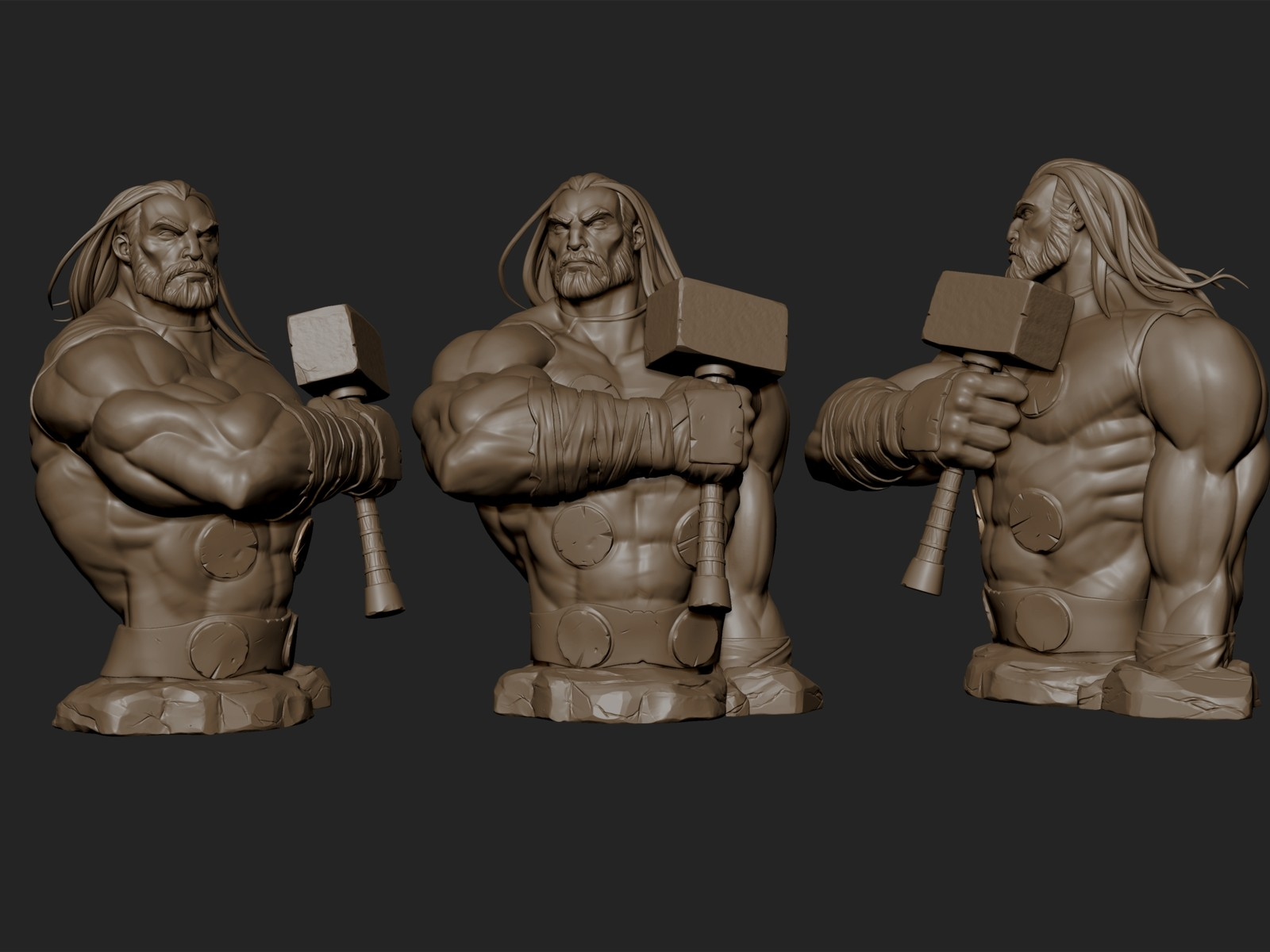 Thor Odinson Mini-Bust Prototype