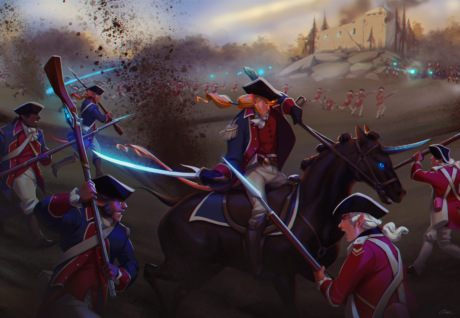 The Battle of Fort Howley
