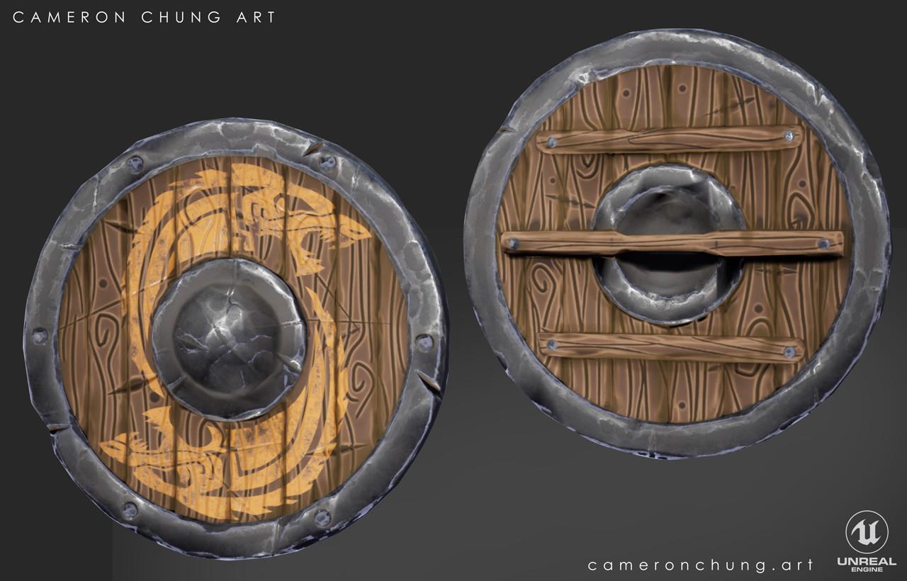 Cameron chung stylized shield image