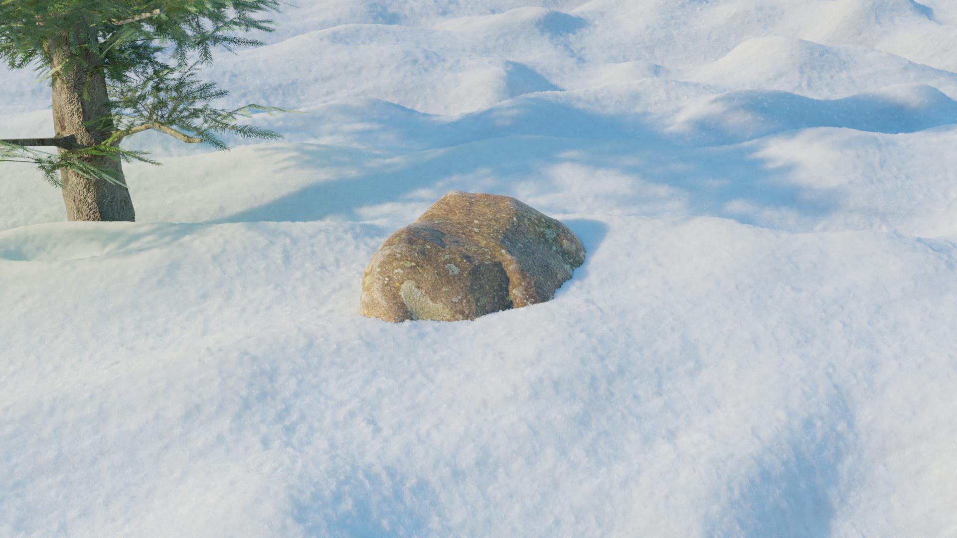 Tucker epp snow scene