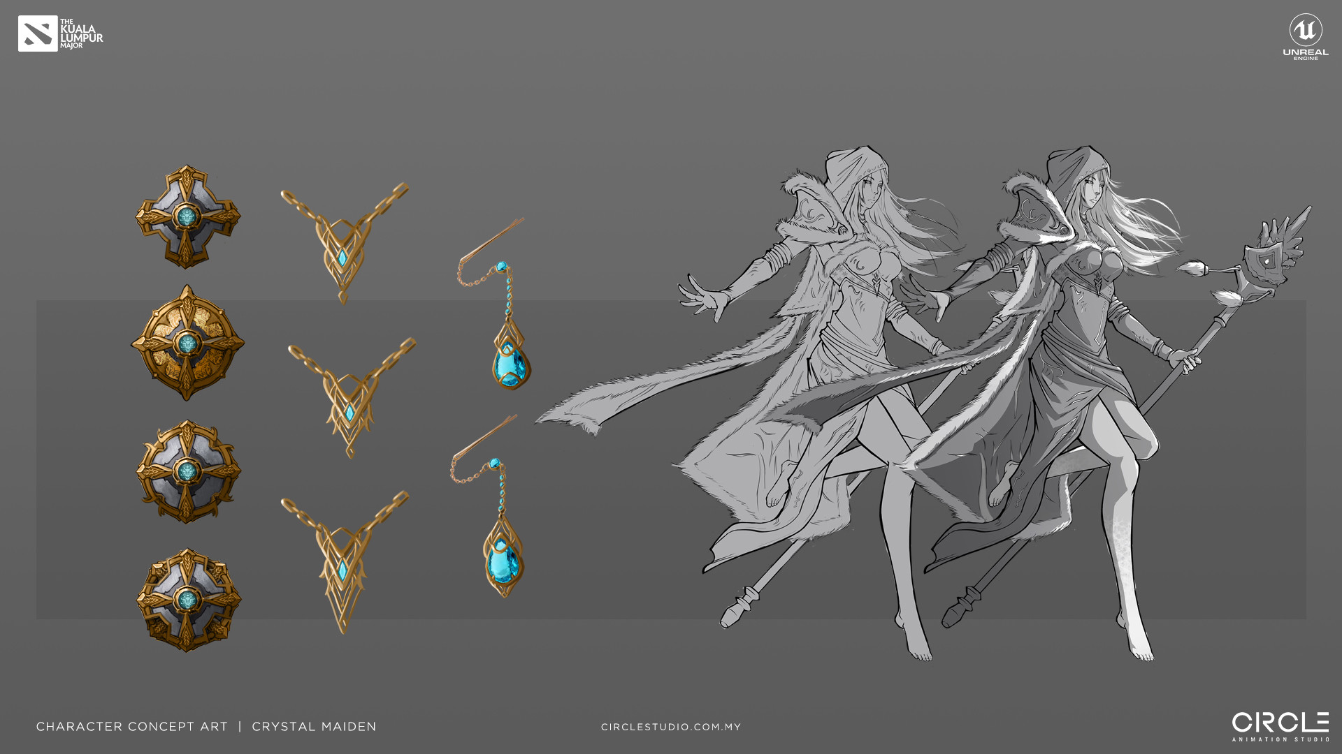 Crystal Maiden Concept Art
