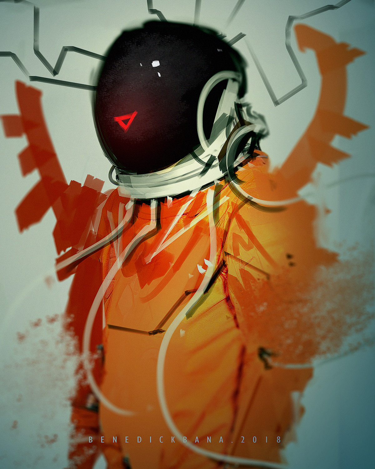 Speedpainting Space Man