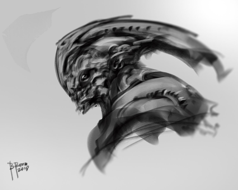 Benedick bana alien portrait2 lores