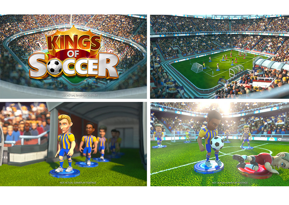 Ian thompson kings of soccer trailer shots