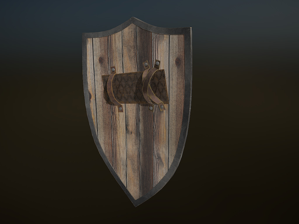 Texturing: Substance Painter Lighting and Rendering: Marmoset: