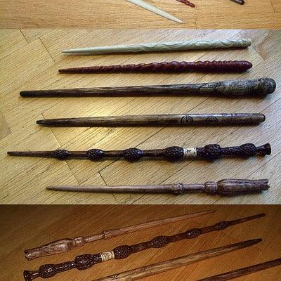Darren levine carvedharrypotterwands