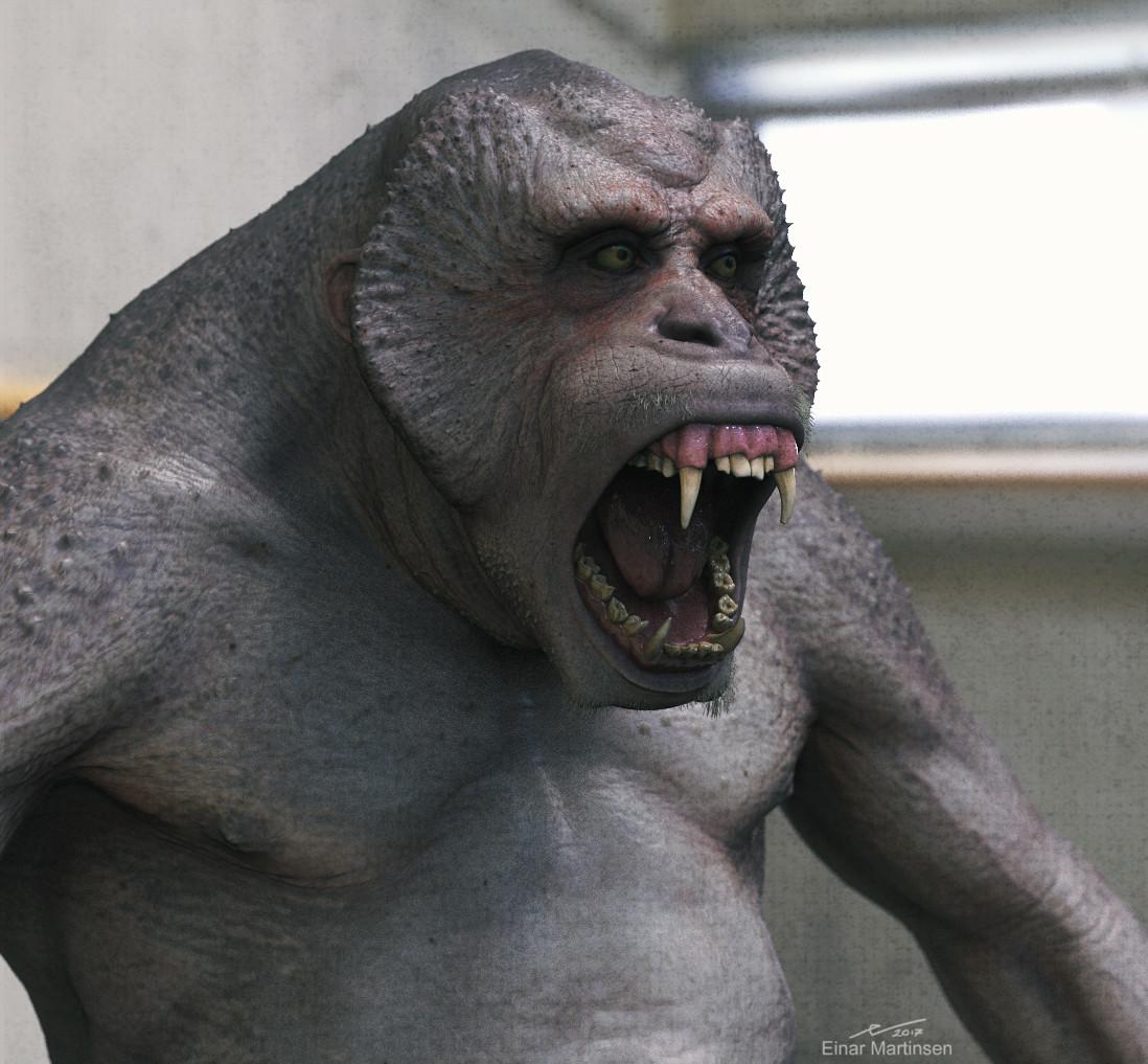 Einar martinsen einarmartinsen primate render 02