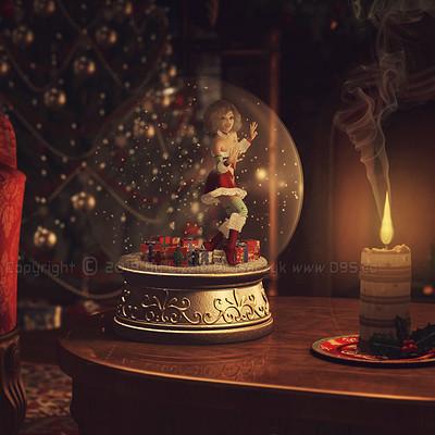 Lizzie prusaczyk d9s co holiday glow