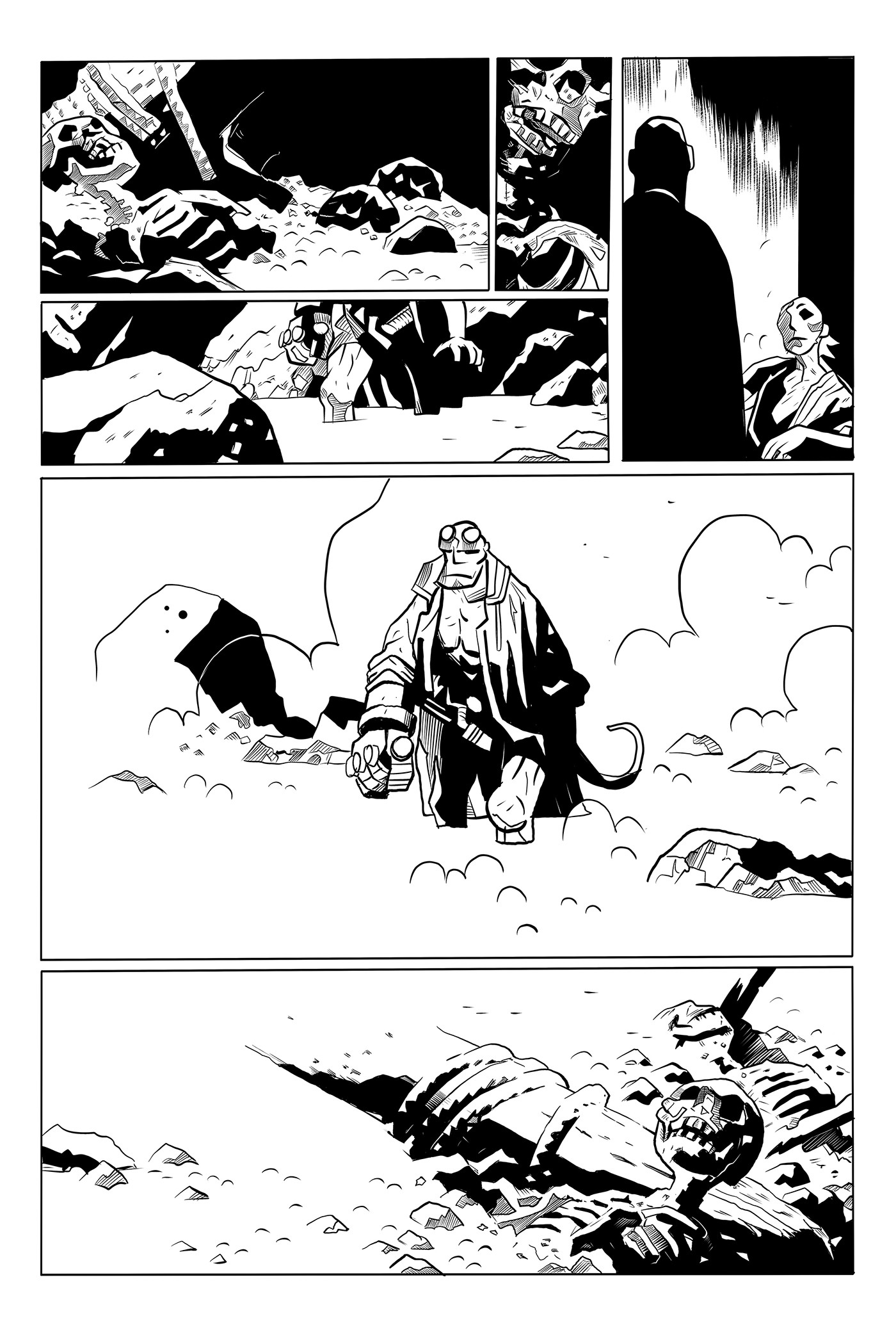 Hellboy Sample page 05