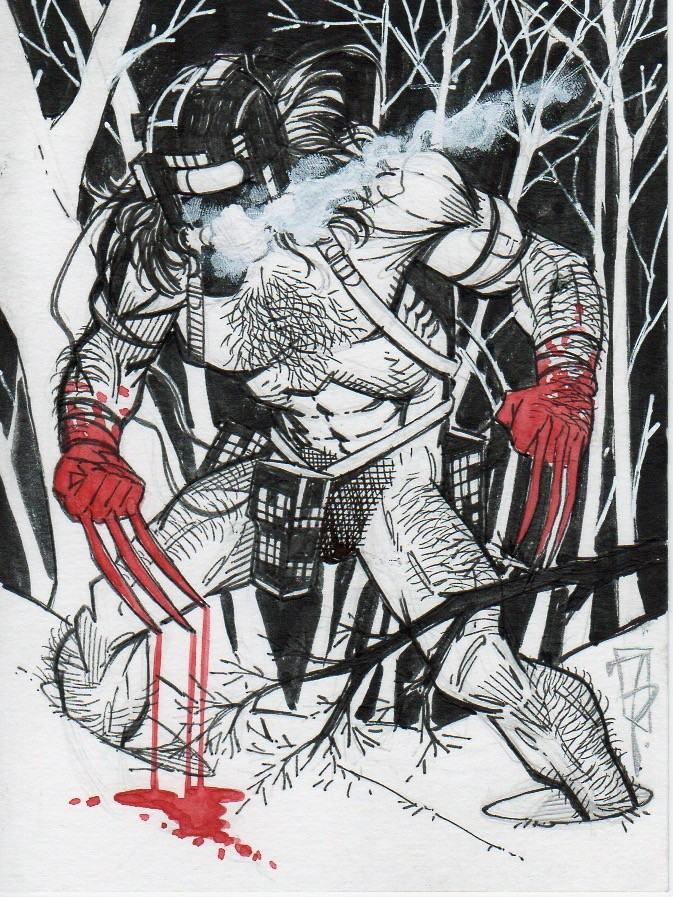 Frank percy weapon x card