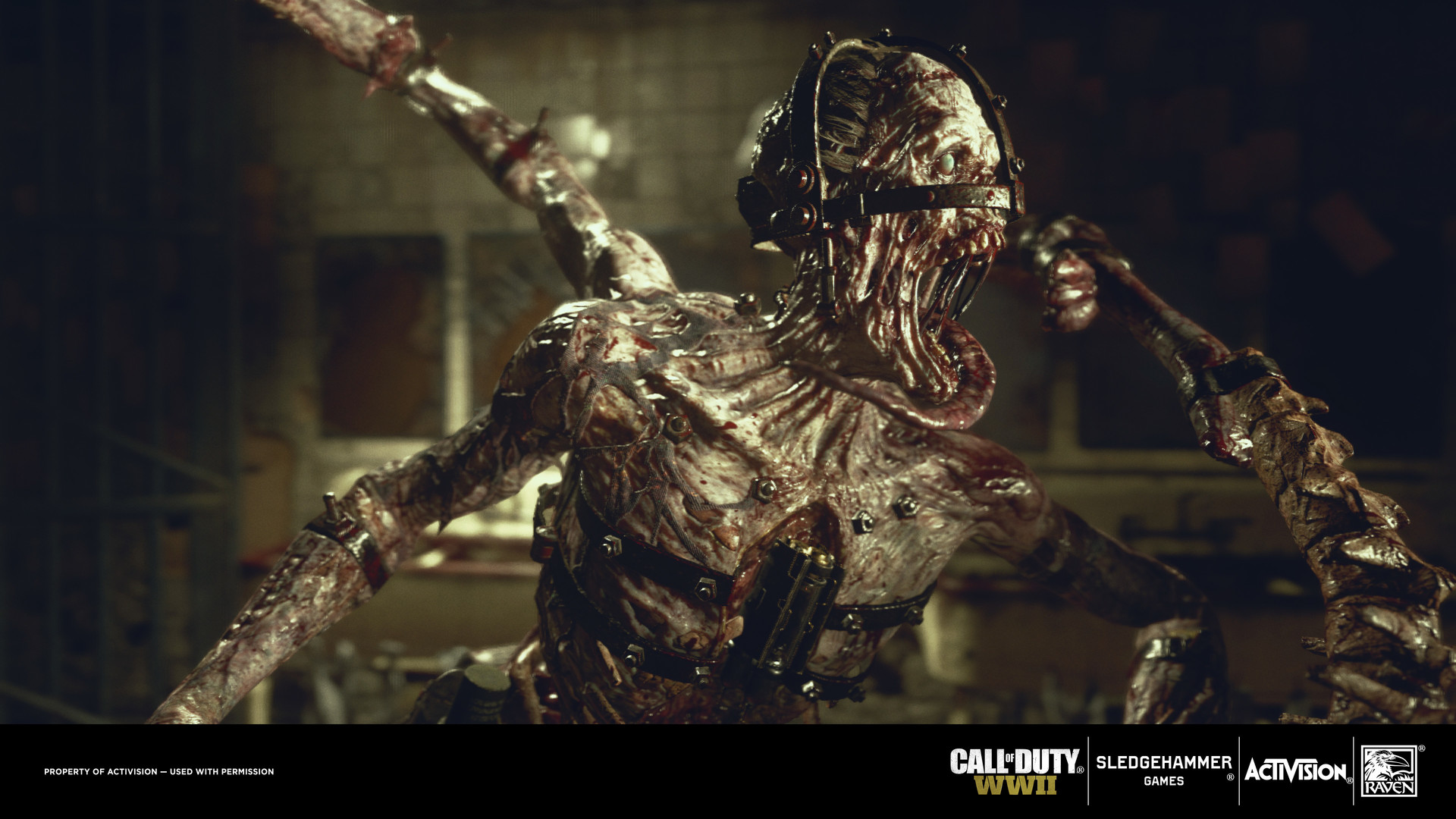 Artstation Call Of Duty Ww2 Meuchler Nazi Zombies Csaba Molnar