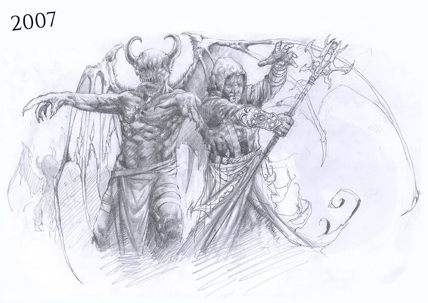 Kamil pietruczynik demonswizards work in progress 1