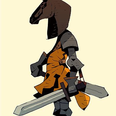 Satoshi matsuura horse hex knight s