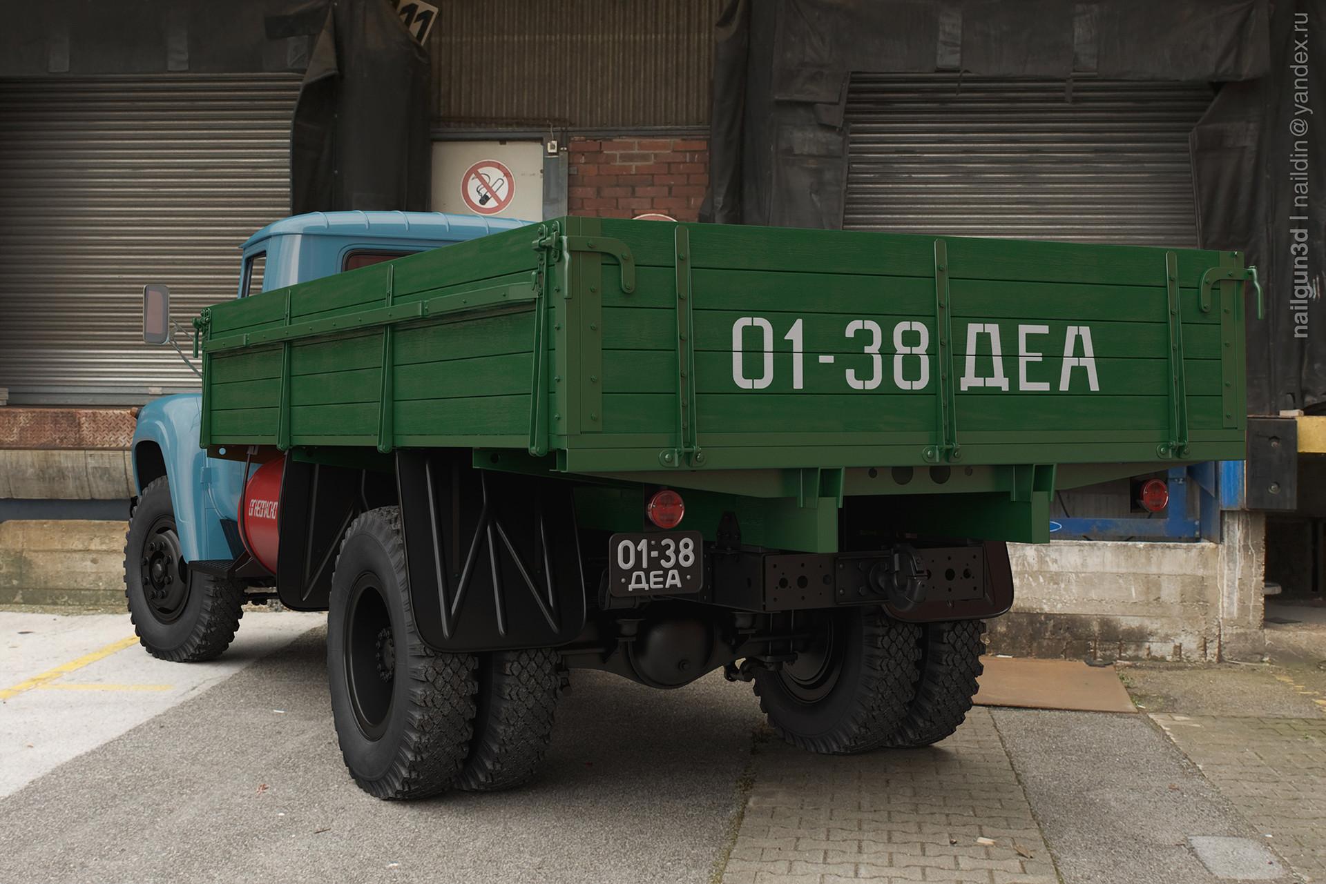 Nail khusnutdinov alg 039 010 zil 138 rear view 3x