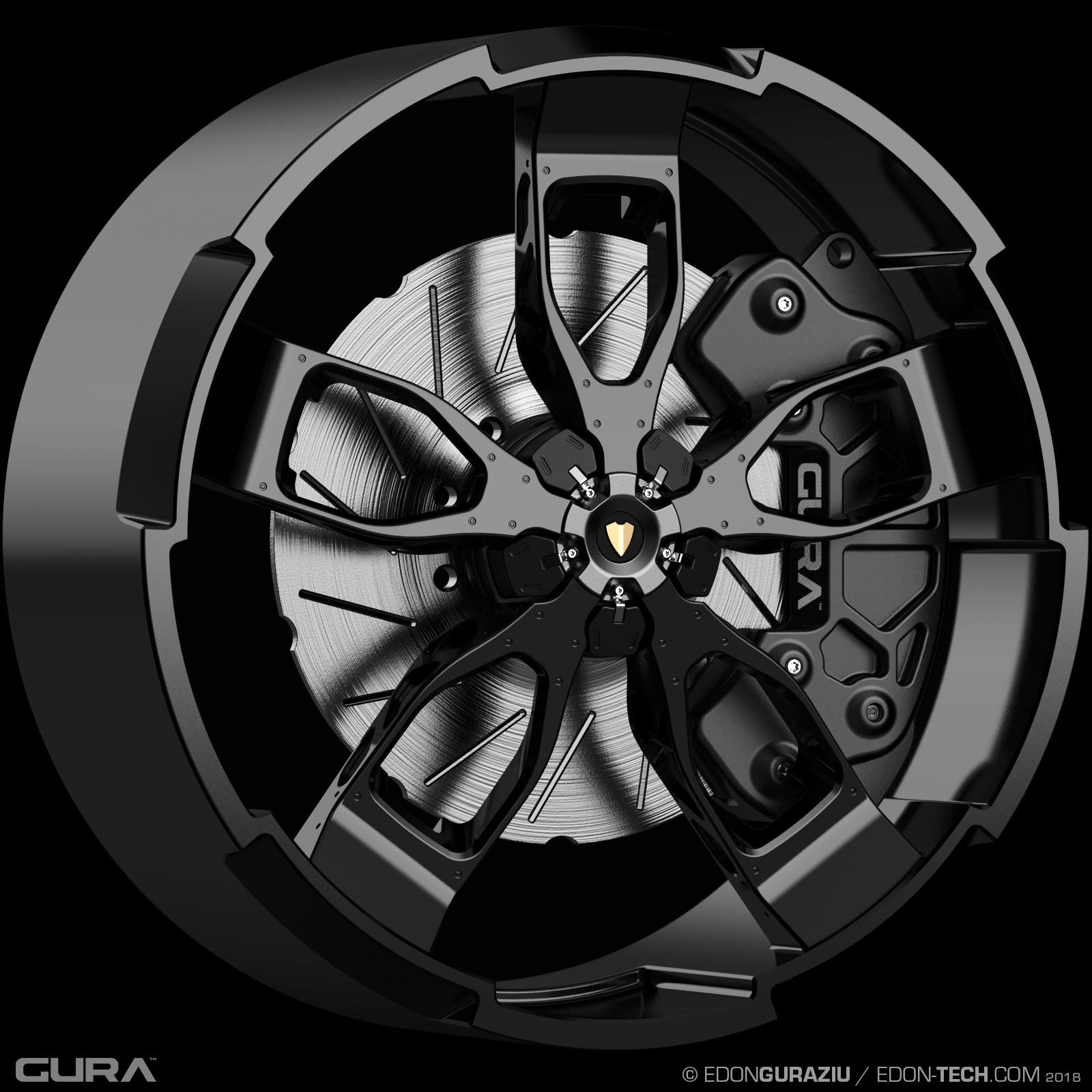 Edon guraziu gura black wheel 002