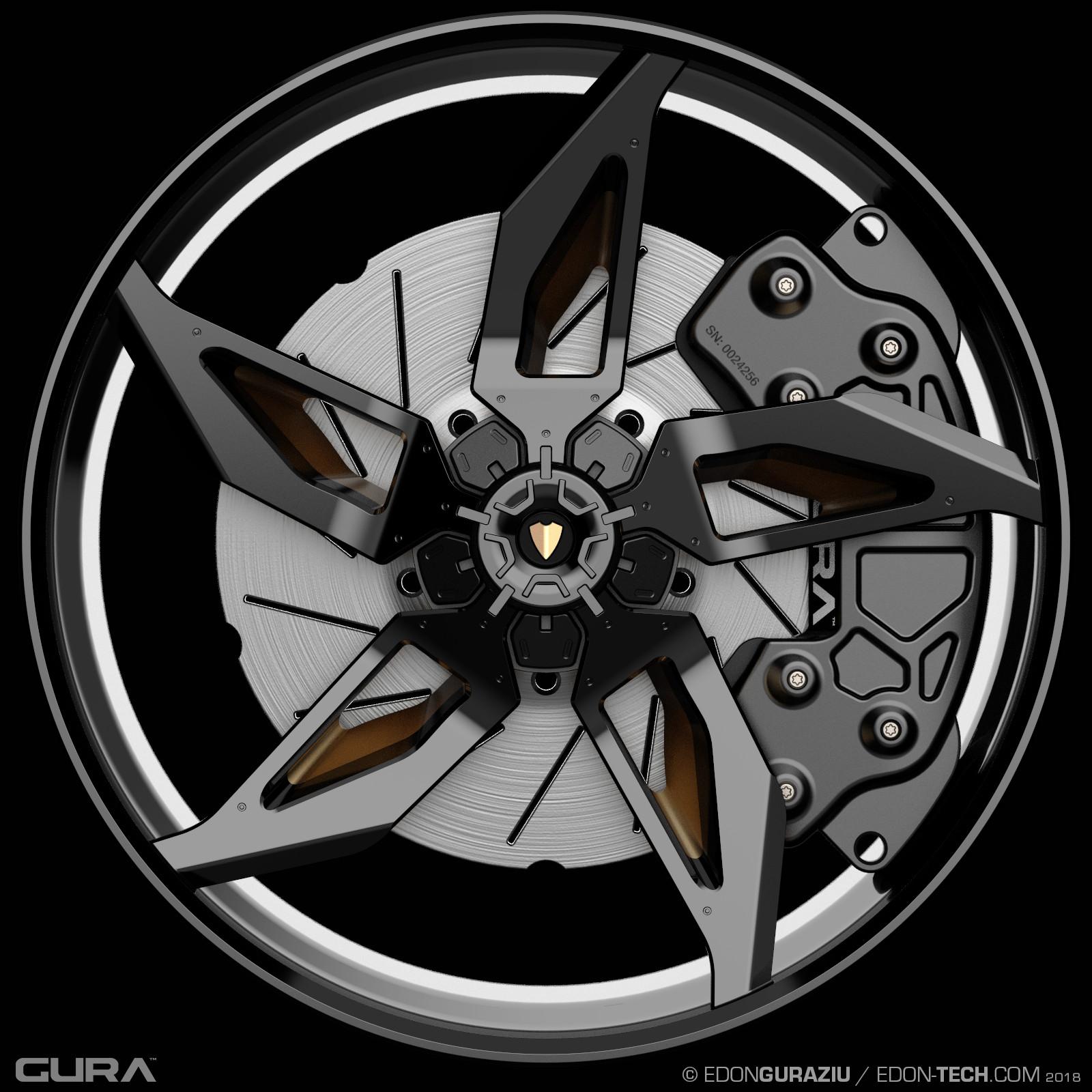 Edon guraziu gura black wheel 003