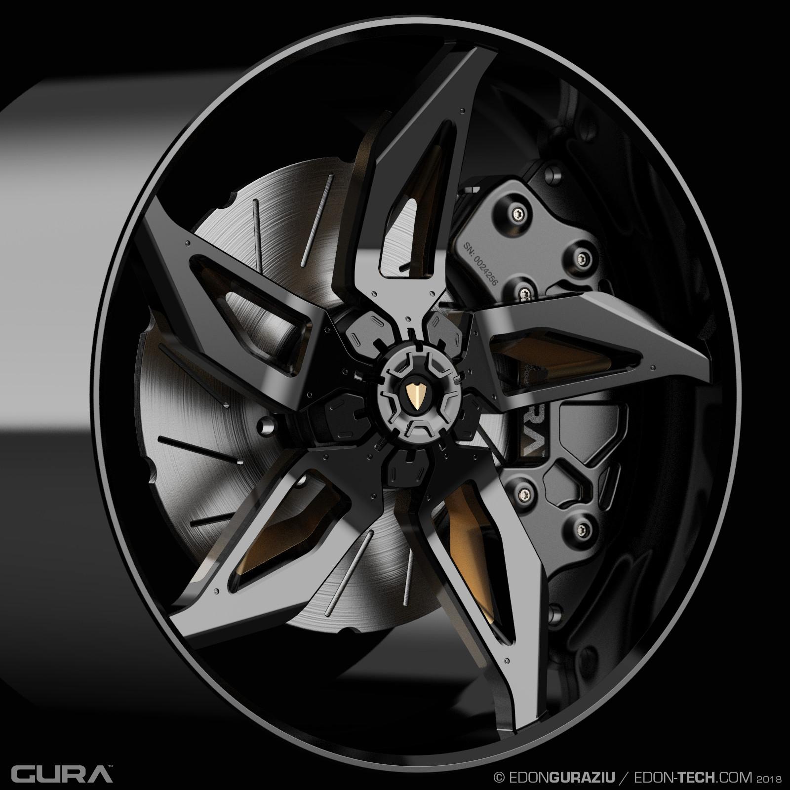 Edon guraziu gura black wheel 004