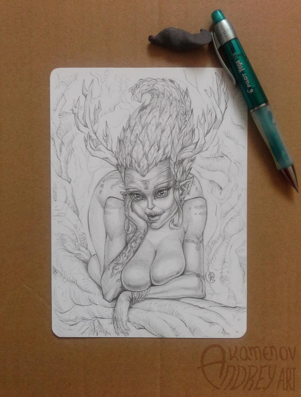 Andrey kamenov pencil x 19
