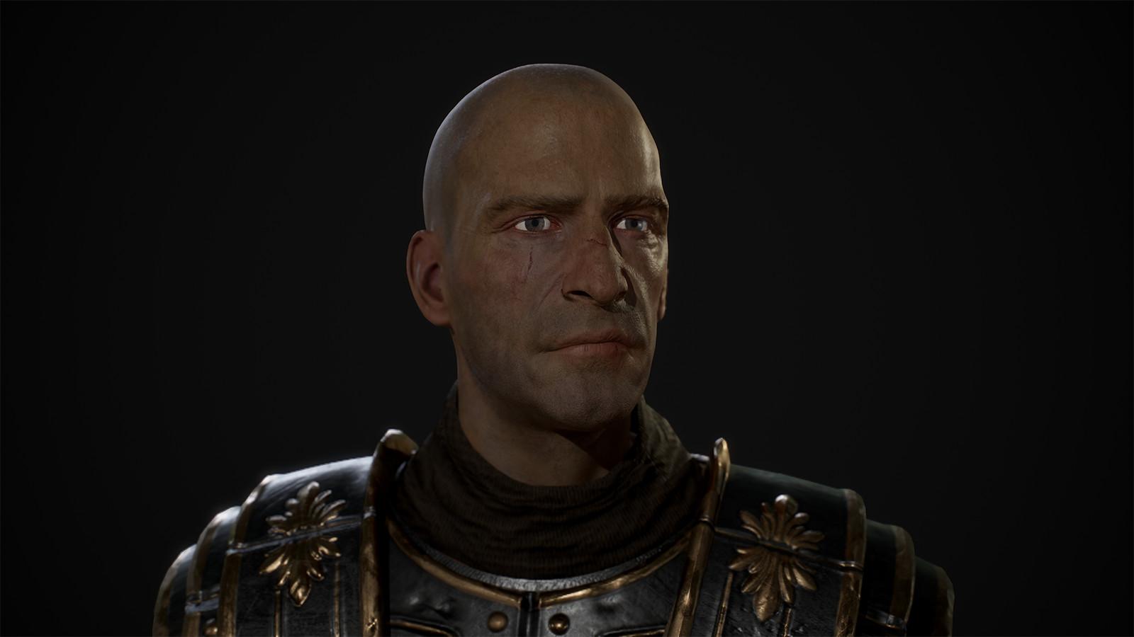 Head Without Helmet