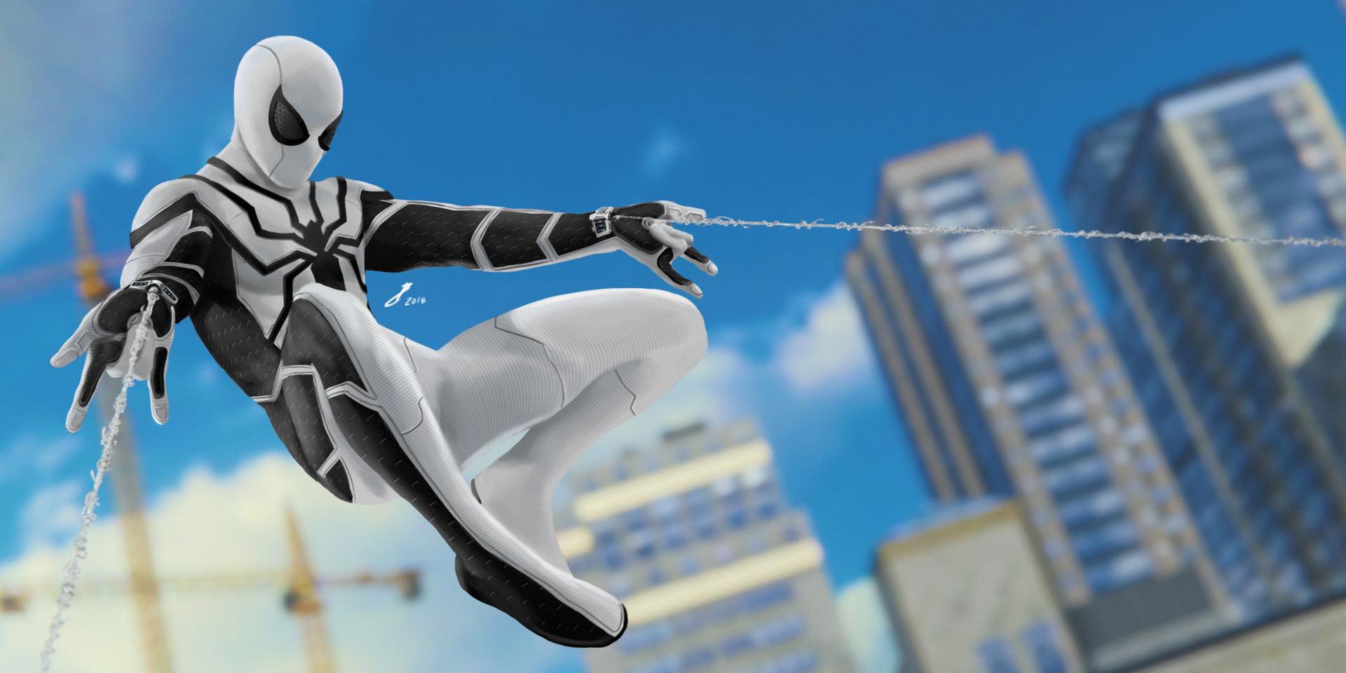темой прядения белый человек паук картинка закрыта данная