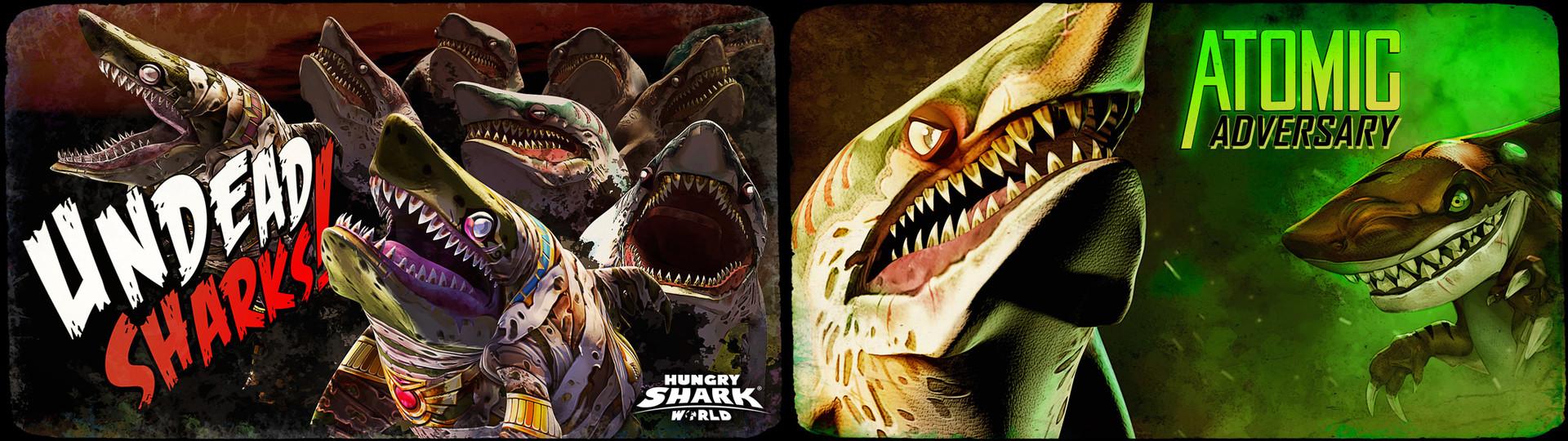 Thomas veyrat zombies sharks