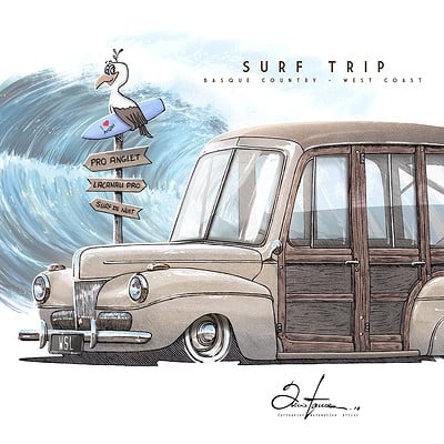 Alexis taccoen surf wagon ford 41 10 low