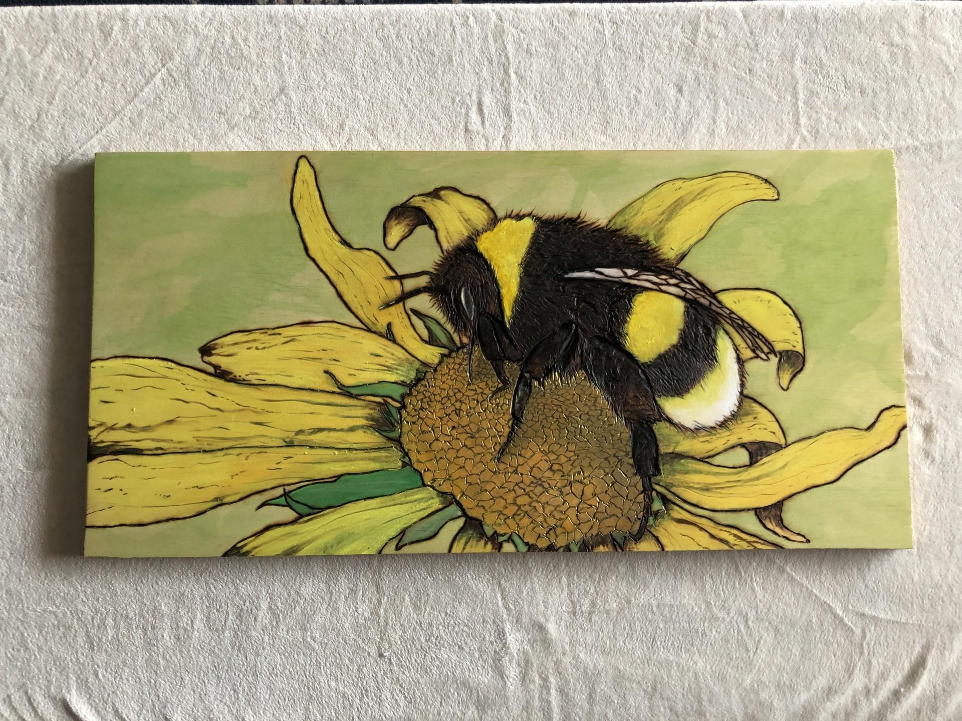 Skylar mcclellan bee burning1