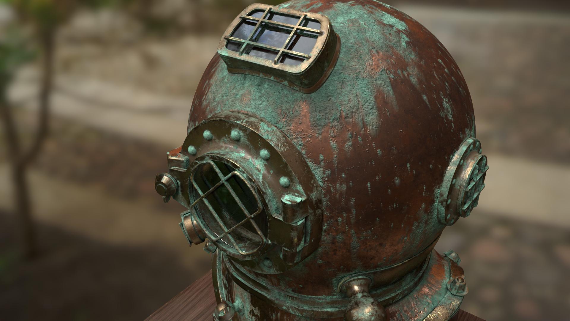 Brock flint helmet 02