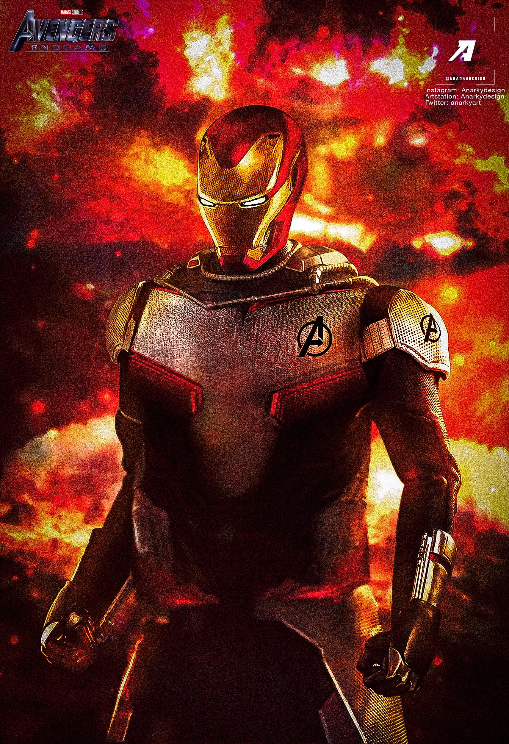 iron man endgame suit