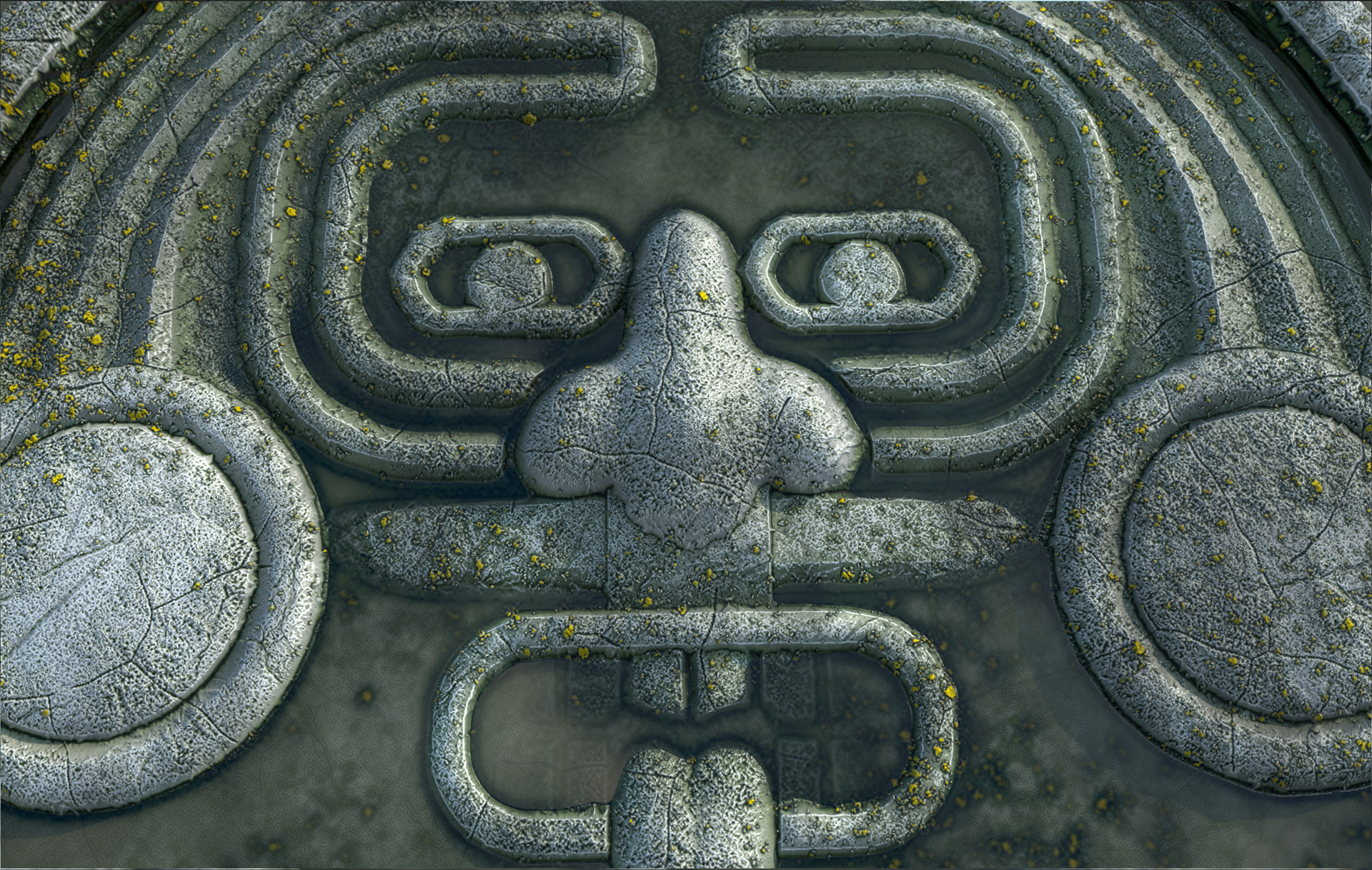 Marcelo souza aztec mask pond3