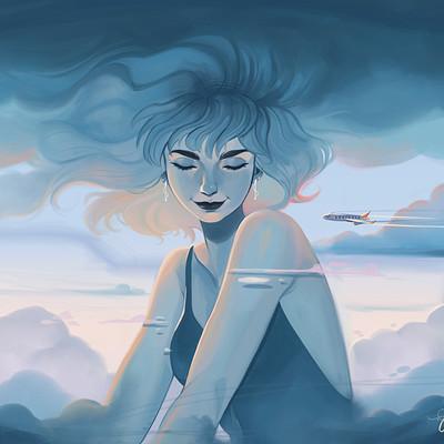 Caroline garcia clouds