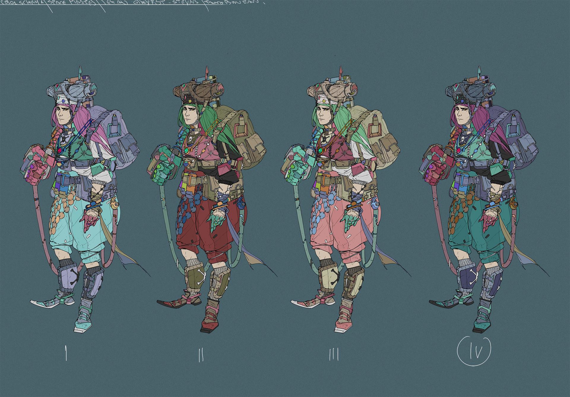 Tano bonfanti color scheme